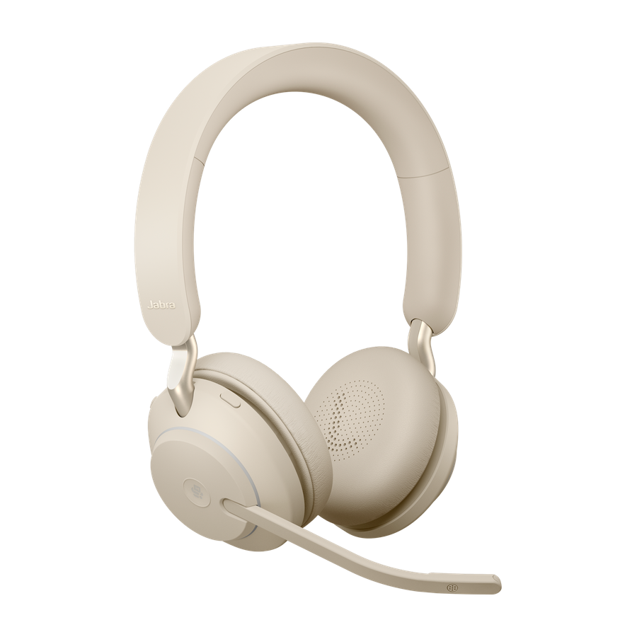 Jabra Evolve2 65, Link380a MS Stereo Beige, 26599-999-998