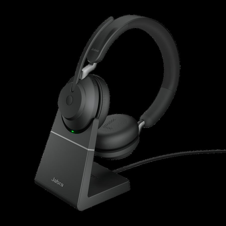 Jabra Evolve2 65, USB-A Black MS, team,Ster.,Desk., 26599-999-989