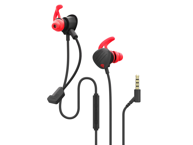 Genesis Oxygen 400 Multiplatformní sluchátka do uší s mikrofonem, PC, PS4, Xbox One, Switch, NSG-1510