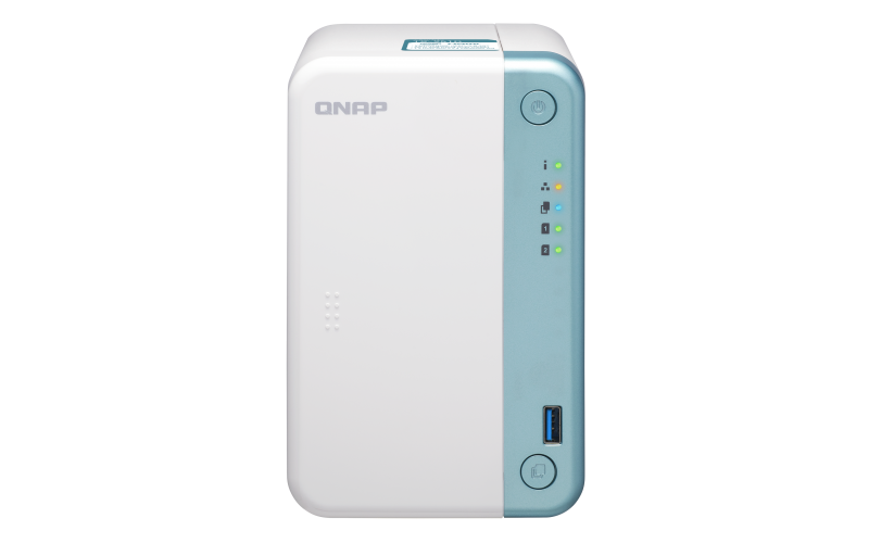 QNAP TS-251D-4G ( 2,0GHz / 4GB RAM / 2xSATA / 1xHDMI / 1x GbE / 3x USB 2.0 / 2x USB 3.0 ), TS-251D-4G