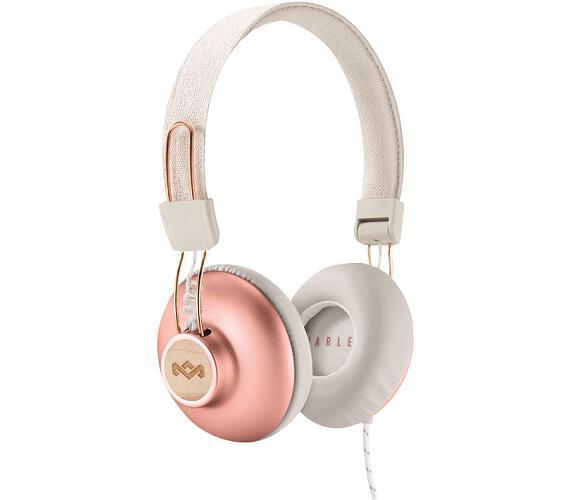 NONAME MARLEY Positive Vibration 2.0 Bluetooth - Copper, bezdrátová sluchátka přes hlavu, EM-JH133-CP