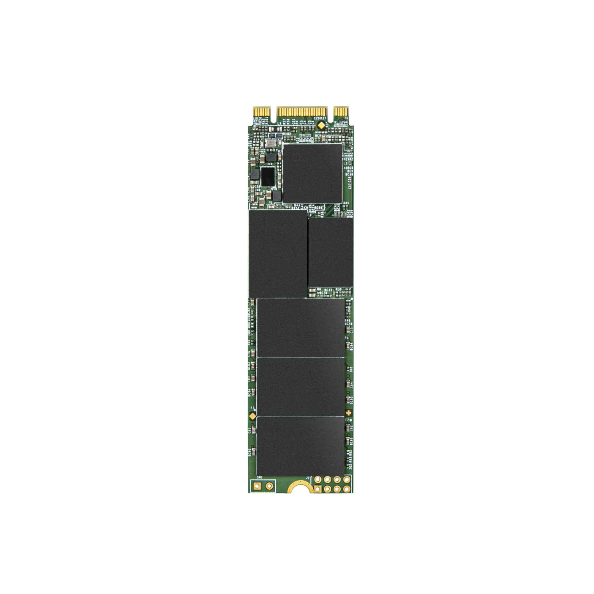 TRANSCEND SSD MTS832S, Single Side, 1TB, M.2 2280, SATA B+M Key, TLC, TS1TMTS832S