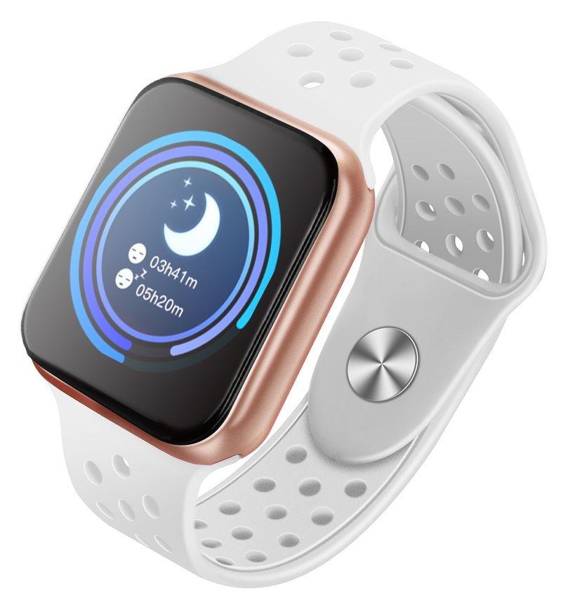 """OPRAVENÉ - IMMAX chytré hodinky SW13/ 1.3"""" dotykový TFT LCD/ BT/ IP67/ komp. s Android 2.3 / iOS 4.0 a vyšší/ CZ app/ bí..., HODIMM1045V"""