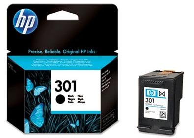 HP 301 černá inkoustová kazeta, CH561EE