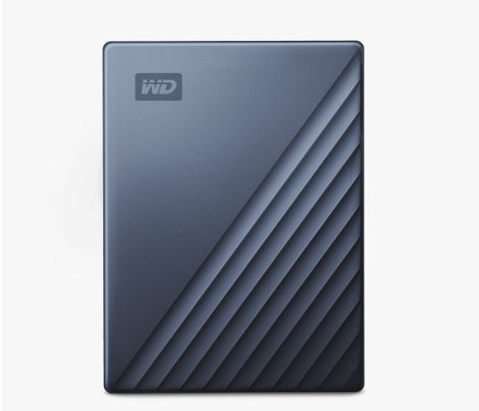WESTERN DIGITAL Ext. HDD 2,5'' WD My Passport Ultra 5TB modro-černá, WDBFTM0050BBL-WESN
