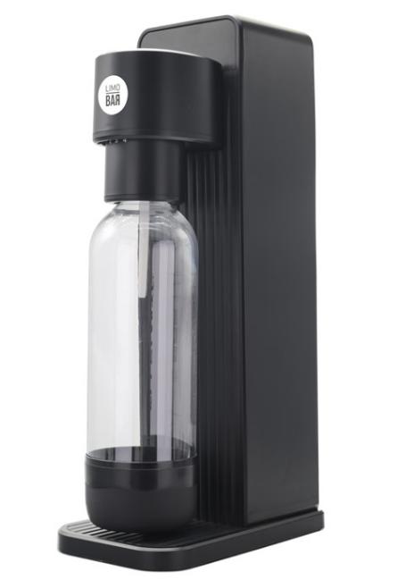 LIMO BAR výrobník sody TWIN - Black Mat - T0150BLA