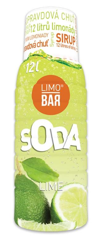 Limo Bar sirup Limetka 500 ml