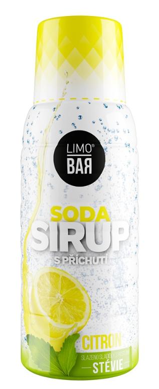 Limo Bar sirup Citrón Stévia 500 ml