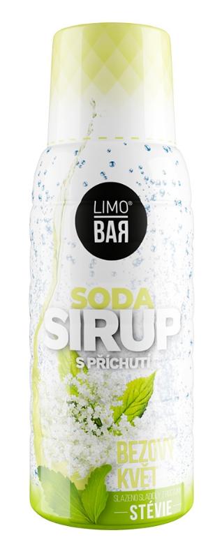 Limo Bar sirup Bezový květ Stévia 500 ml