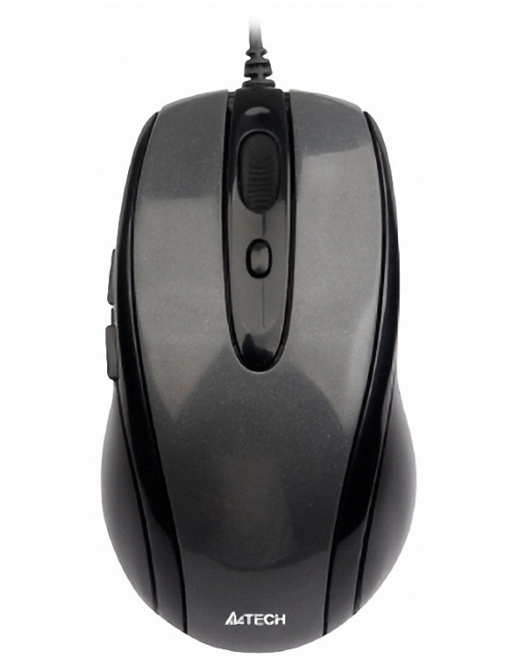 A4tech N-708X V-Track optická myš, 1600DPI, USB, černá