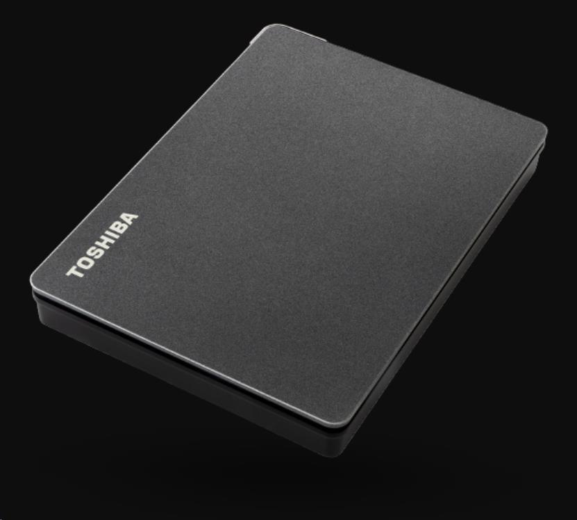 """TOSHIBA HDD CANVIO GAMING 2TB, 2,5"""", USB 3.2 Gen 1, černá / black, HDTX120EK3AA"""