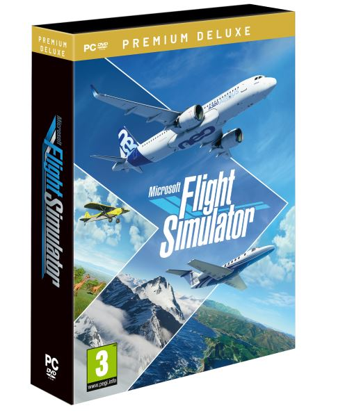 UBI SOFT PC - Microsoft Flight Simulator Premium Deluxe, 4015918151023