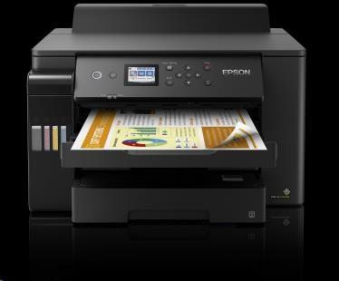 EPSON tiskárna ink EcoTank L11160, A3+, 25ppm, 1200x4800 dpi, USB, Wi-Fi, 3 roky záruka po registraci, C11CJ04402