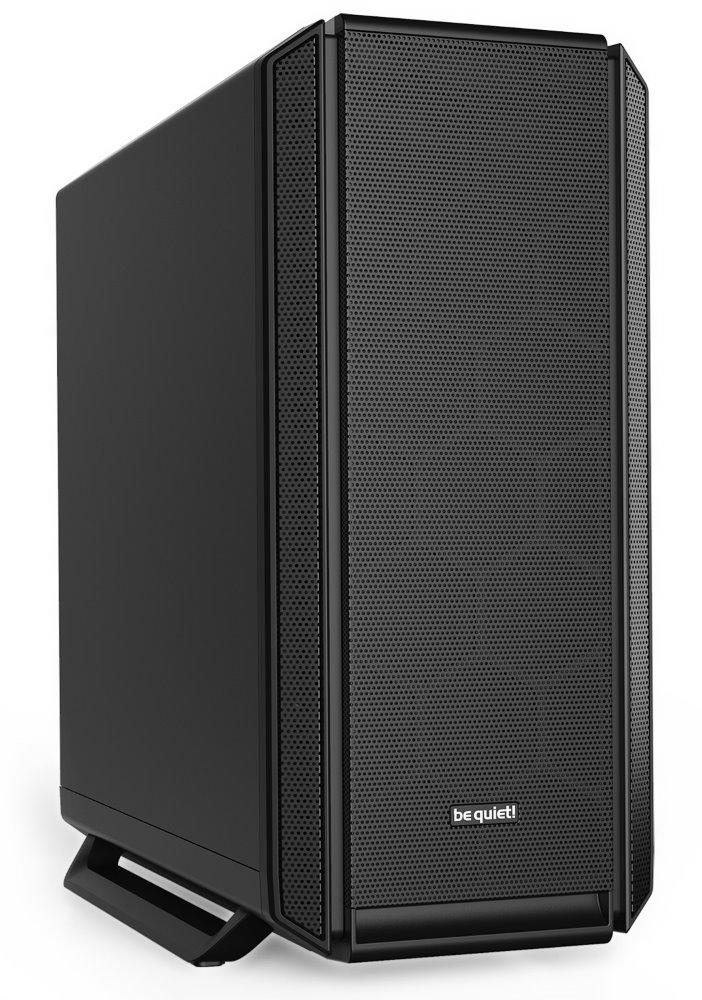 Be quiet! skříň SILENT BASE 802 / MidT / bez zdroje / 1x USB-C + 2x USB3.0 / regulátor otáček / černá, BG039