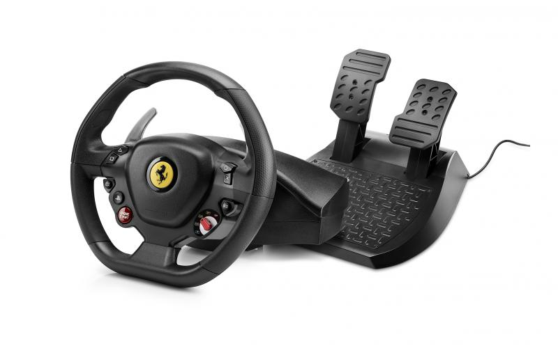 Thrustmaster Sada volantu a pedálů T80 Ferrari 488 GTB Edition pro PS4 a PC, 4160672