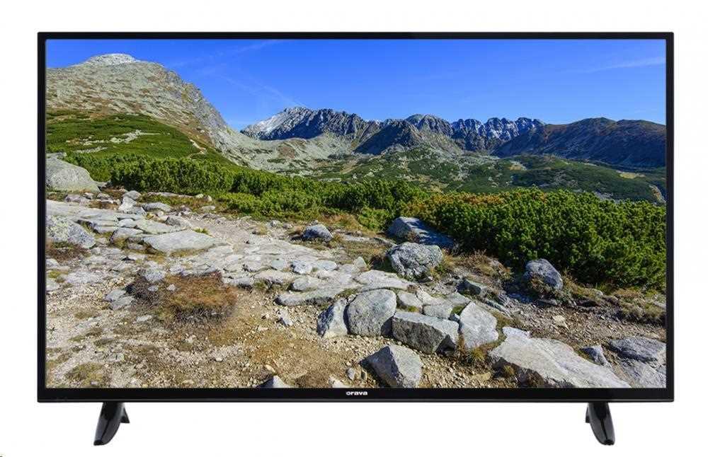 """ORAVA LT-1235 LED TV, 49"""" 124cm, UHD 3840x2160, DVB-T2/C/S2, PVR ready, HbbTV, WiFi, LT-1235"""
