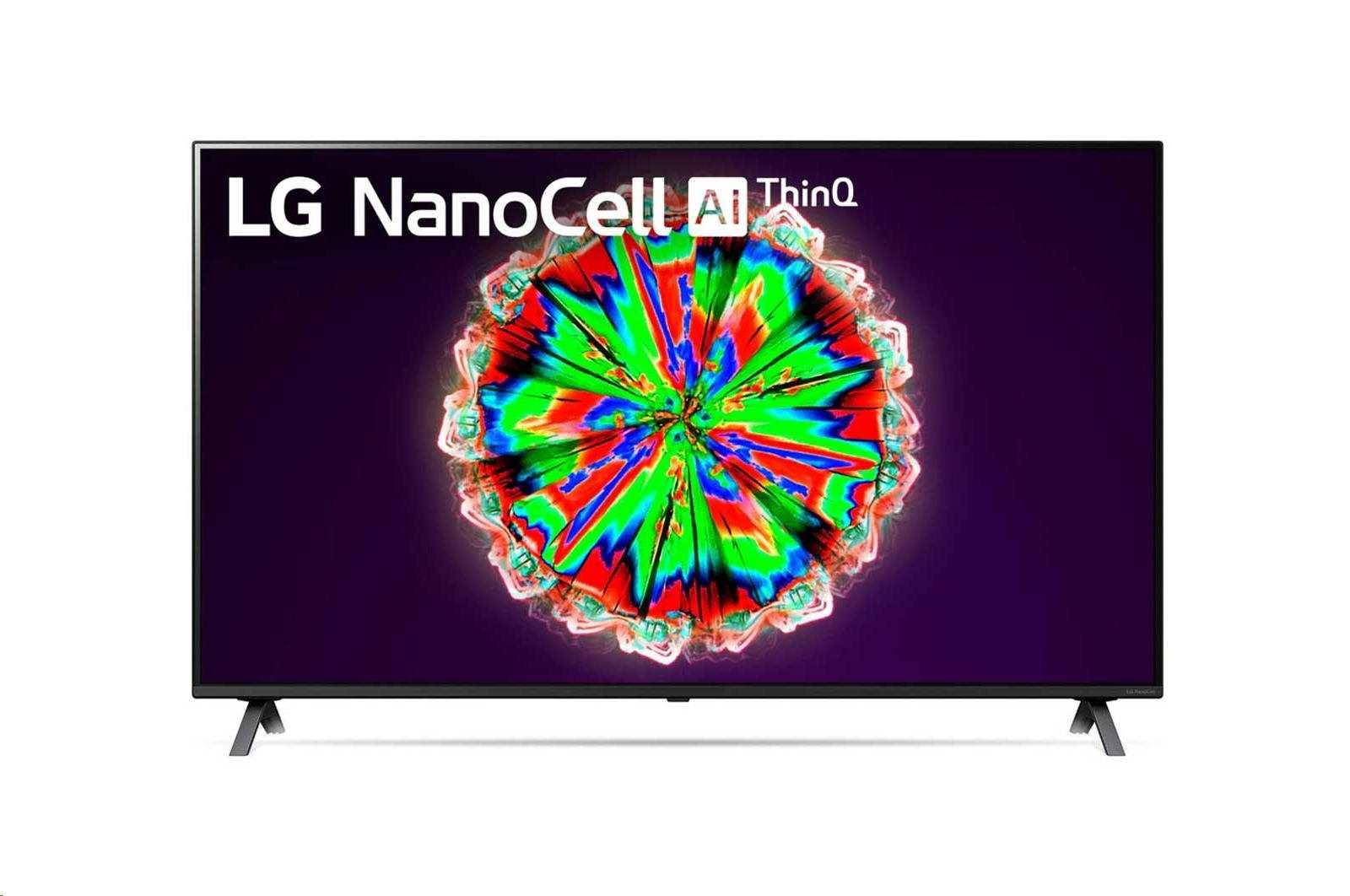LG 55'' NanoCell TV, webOS Smart TV, 55NANO803NA