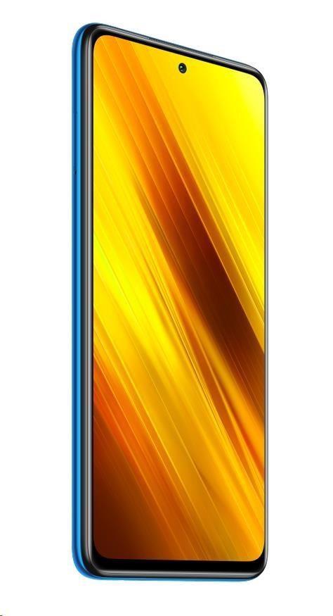 Xiaomi POCO X3 NFC, 6GB/128GB, Cobalt Blue (CZ distribuce), 29595