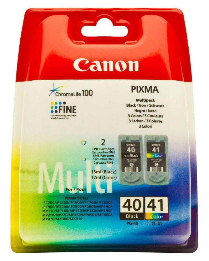 Canon multipack inkoustových náplní PG-40 + CL-41, 0615B043