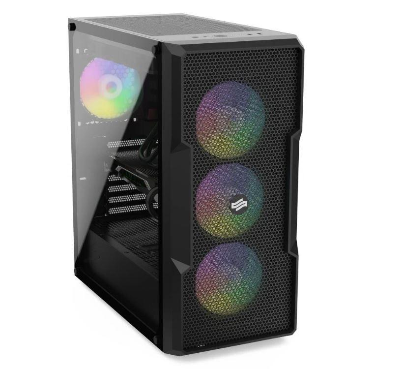 Alex PC Porthos V / AMD Ryzen 5 3600 / 16 GB / GTX 1650 VENTUS / 500 GB SSD / Windows 10 Home, PCAPS2105