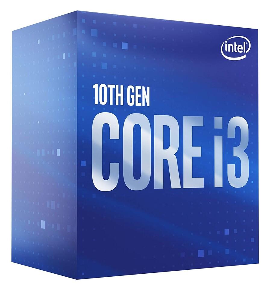 CPU Intel Core i3-10100F BOX (3.6GHz, LGA1200), BX8070110100F