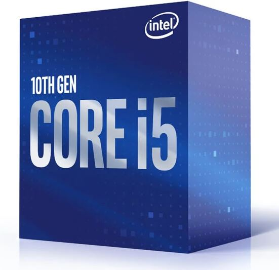 CPU Intel Core i5-10400F BOX (2.9GHz, LGA1200), BX8070110400F