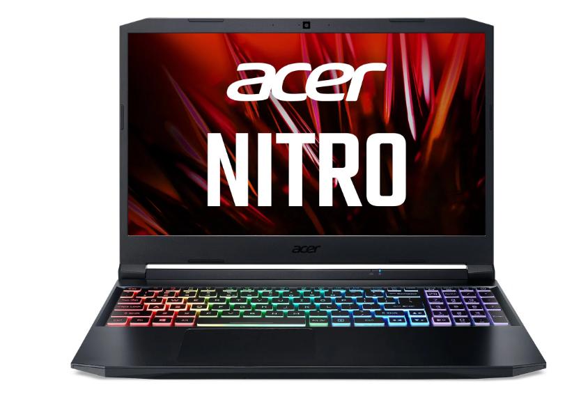 Acer Nitro 5 - 15,6''/R9-5900HX/2*16G/1TBSSD/RTX3080/QHD@165Hz/W10 černý, NH.QBSEC.00A