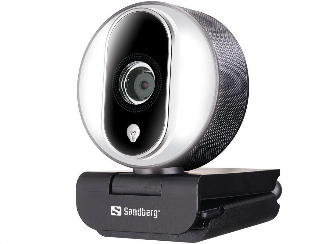 Sandberg USB kamera Webcam Streamer Pro, 134-12