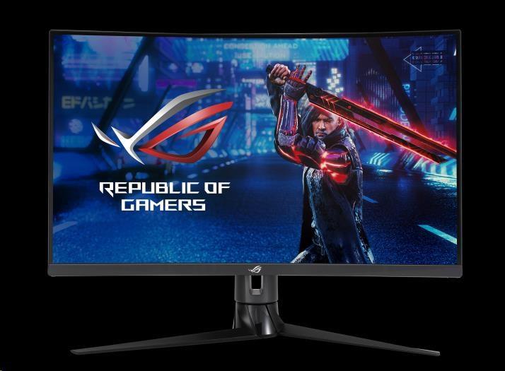"ASUS LCD 31.5"" XG32VC 2560x1440 ROG STRIX Curved VA 170*Hz 125% sRGB DP HDMI DisplayHDR 400cd 1ms USB-C KVM support, 90LM03S0-B04170"
