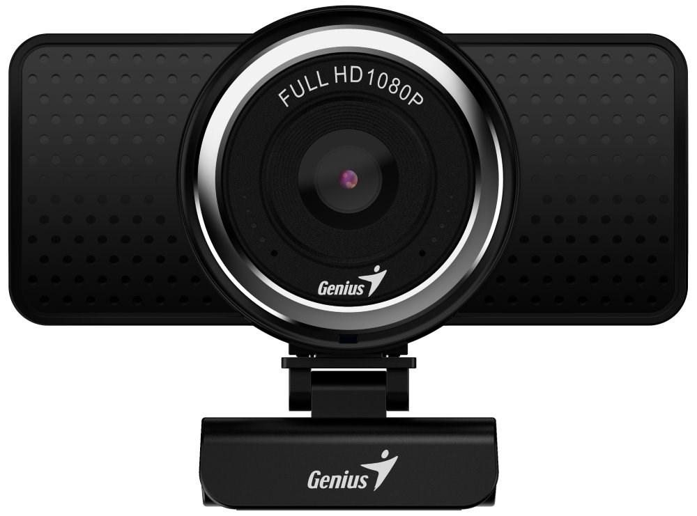 GENIUS webkamera ECam 8000/ černá/ Full HD 1080P/ USB2.0/ mikrofon, 32200001406