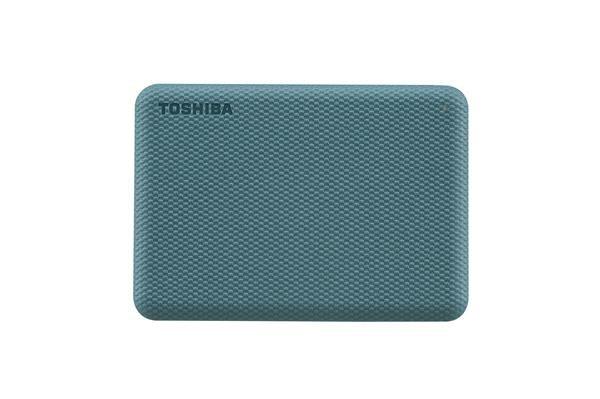 """TOSHIBA HDD CANVIO ADVANCE (NEW) 2TB, 2,5"""", USB 3.2 Gen 1, zelená / green, HDTCA20EG3AA"""