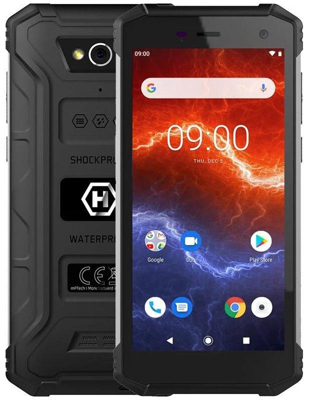 "myPhone Hammer Energy 2 - černý 5,5"" IPS/ Dual SIM/ 32GB/ 3GB RAM/ LTE/ IP68/ Android 9, TELMYAHENER2LBK"