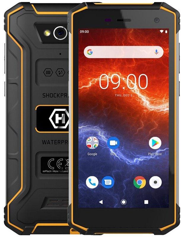 "myPhone Hammer Energy 2 - oranžový 5,5"" IPS/ Dual SIM/ 32GB/ 3GB RAM/ LTE/ IP68/ Android 9, TELMYAHENER2LOR"