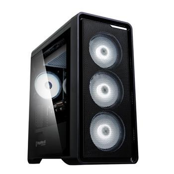 case Zalman minitower M3 PLUS, mATX, bez zdroje, USB3.0, černá, M3 PLUS