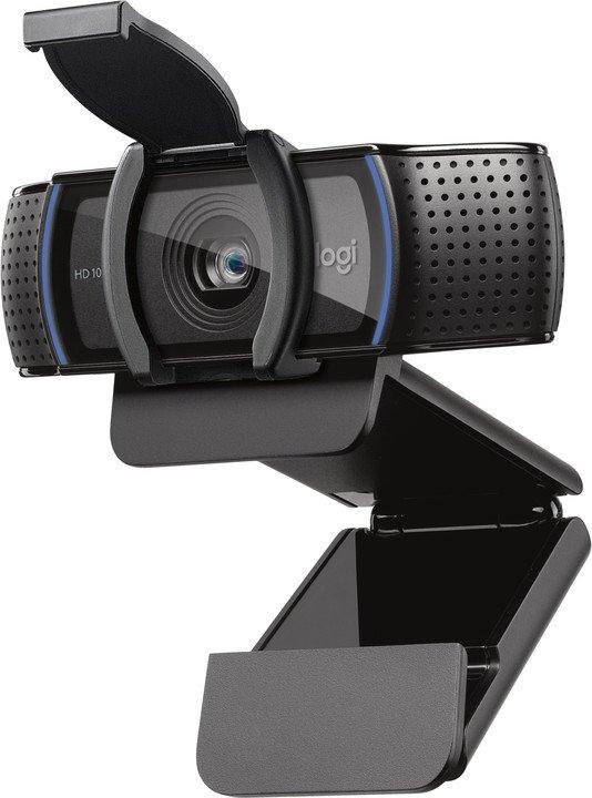 webová kamera Logitech FullHD Webcam C920s, 960-001252