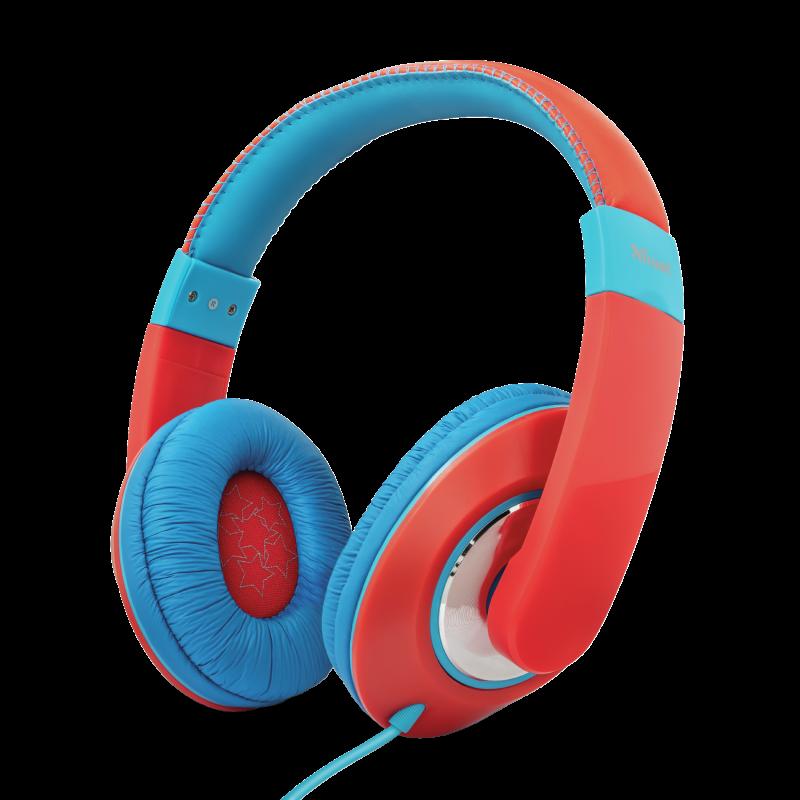 TRUST Sonin Kids Headphones - red, 23585