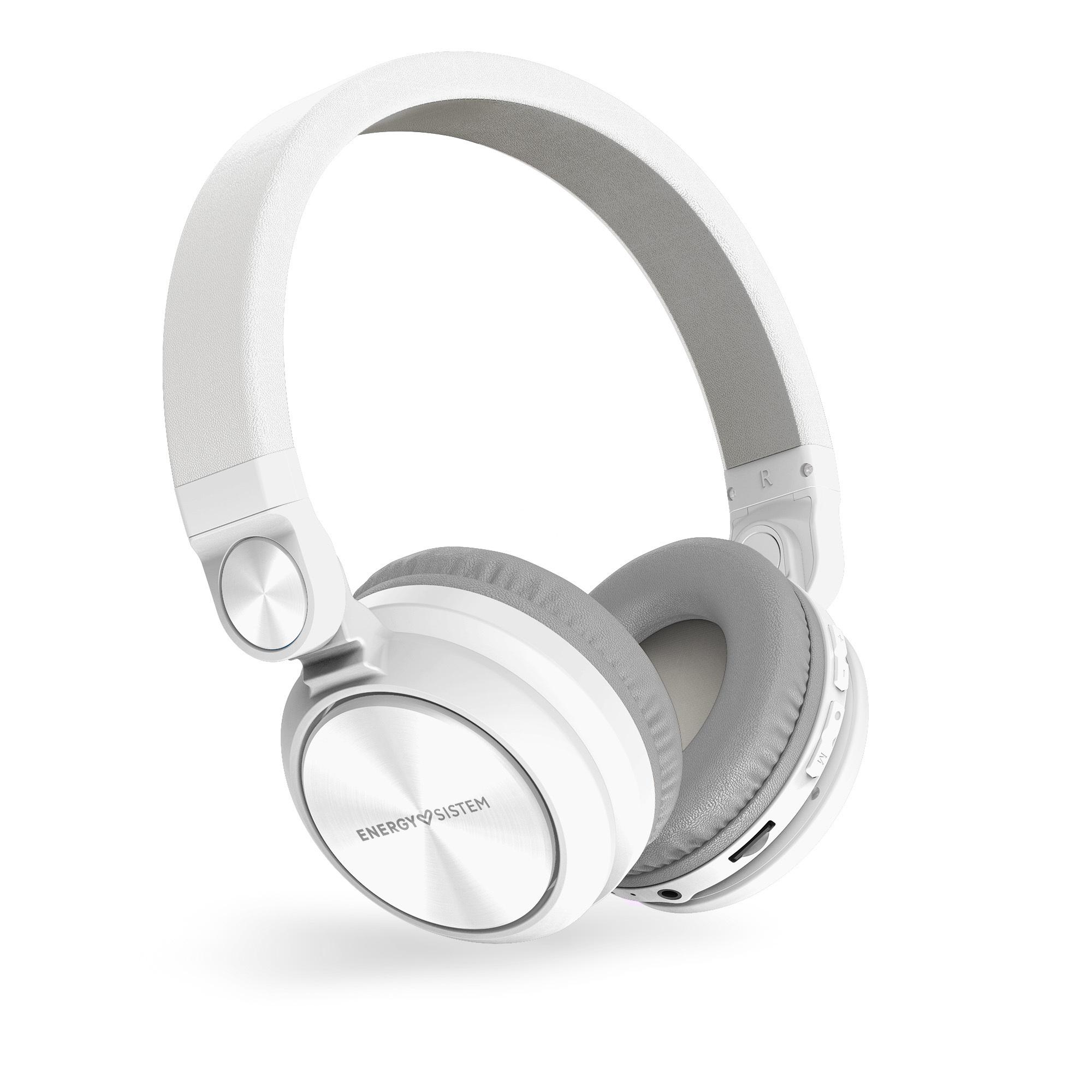 PIONEER Energy Sistem HP BT Urban 2 Radio White sluchátka, FM rádio, mikro SD, MP3, WAV, Li-Pol, až 10 hodin, 448456