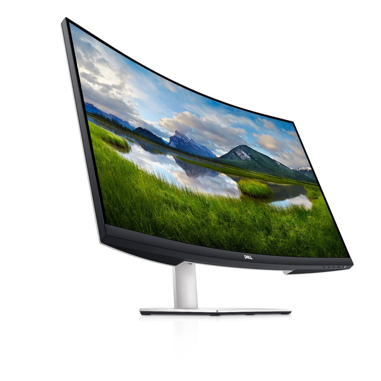 32'' LED Dell S3221QS 4K UHD 16:9/3000:1/4ms/300cd/HDMI/DP/USB/Repro/VESA/3RNBD prohnutý, 210-AXLH