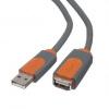 BELKIN USB 2.0 prodluž. kabel A-A, premium, 4.8 m, CU1100cp4.8M