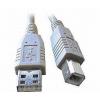 USB kabel typu AB, délka 4,5m HQ Black, CCP-USB2-AMBM-15