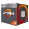 AMD Ryzen 5 2400G / Ryzen / LGA AM4 / max. 3,9 GHz / 4C/8T / 6MB / RX Vega / 65W / BOX