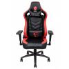 MSI herní/kancelářská židle MAG CH110/ černočervená