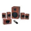 GENIUS repro SW-HF 5.1 4600 Ver. II/ 5.1/ 120W/ Dřevěné/ Dálkový ovladač
