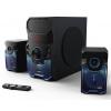 HAMA uRage gamingový sound systém SoundZ Revolution/ 2.1/ 100W/ čtečka SD karet/ Blue Tooth/ CINCH/ USB/ černý