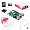 Raspberry Sada Pi 4B/4GB, (SDHC karta 32GB + adaptér, Pi4 Model B, krabička, chladič, HDMI kabel, napájecí zdroj), bílá