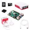 Raspberry Sada Pi 4B/1GB, (SDHC karta 16GB + adaptér, Pi4 Model B, krabička, chladič, HDMI kabel, napájecí zdroj), bílá