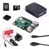 Raspberry Sada Pi 4B/1GB, (SDHC karta 16GB + adaptér, Pi4 Model B, krabička, chladič, HDMI kabel, napájecí zdroj), černá