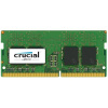 CRUCIAL 8GB DDR4 SO-DIMM 2400MHz PC4-19200 CL17 1.2V Single Ranked x8