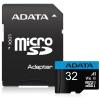ADATA Premier 32GB microSDHC / UHS-I CLASS10 A1 / 85/20 MB/s / + adaptér, AUSDH32GUICL10A1-RA1