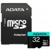 ADATA Premier Pro 32GB microSDHC / UHS-I I3 V30S CLASS10 / + adaptér, AUSDH32GUI3V30SA2-RA1
